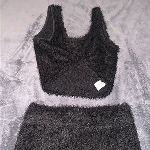 Two piece fuzzy set